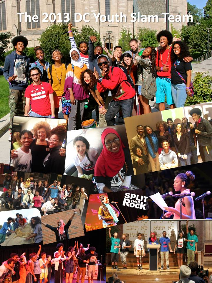 dc youth slam team collage