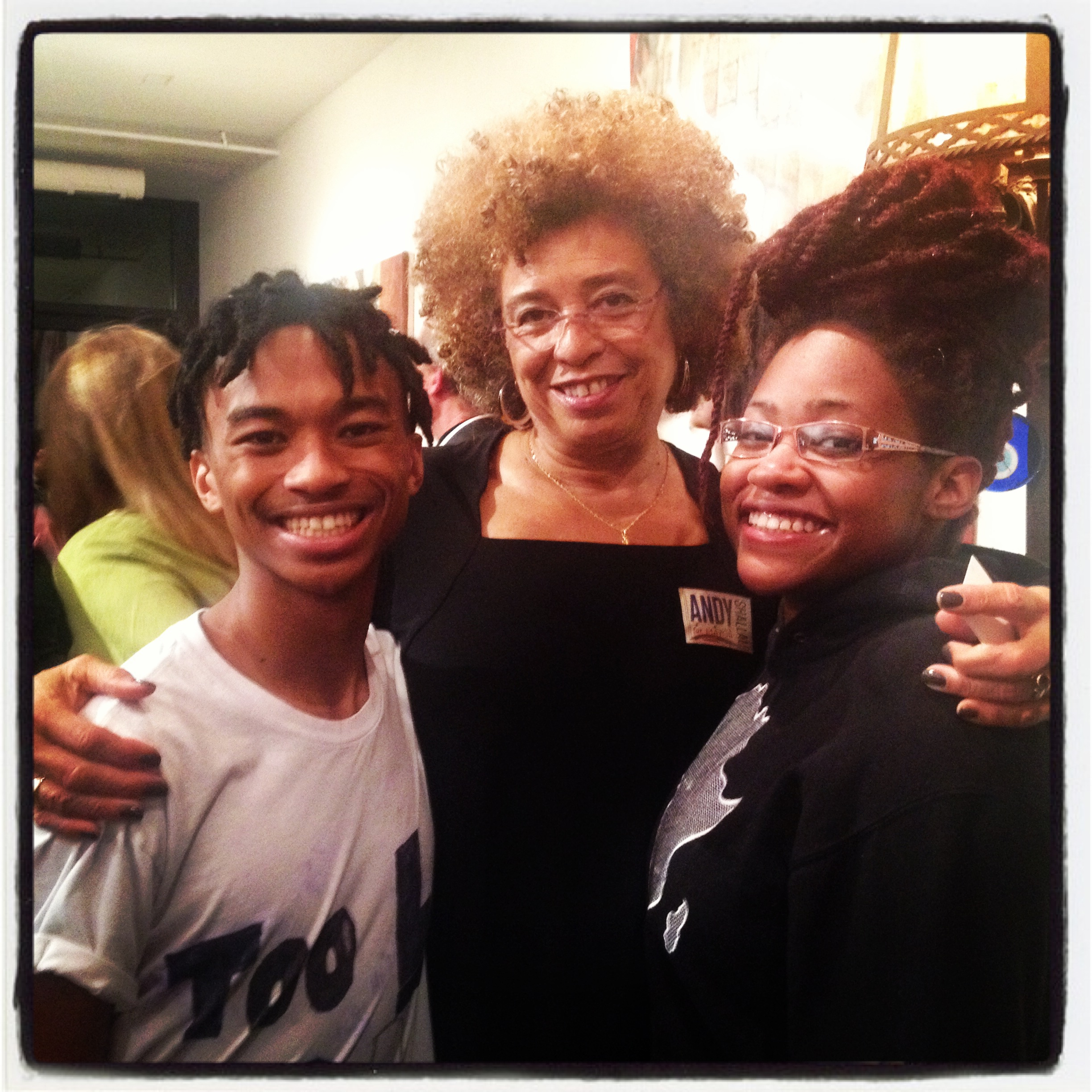 Poets with Angela Davis
