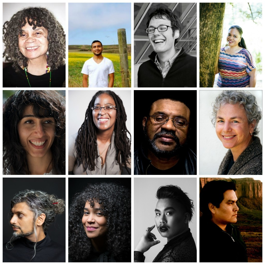 Photo collage the 2018 Split This Rock Poetry Festival Featured Poets.